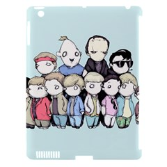 Goonies Vs Monster Squad Apple Ipad 3/4 Hardshell Case (compatible With Smart Cover) by lvbart