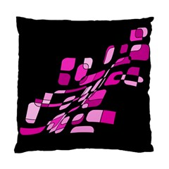 Purple abstraction Standard Cushion Case (Two Sides) by Valentinaart