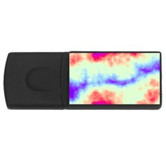 Calm Of The Storm Usb Flash Drive Rectangular (4 Gb)  by TRENDYcouture