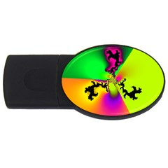 Creation Of Color Usb Flash Drive Oval (4 Gb)  by TRENDYcouture