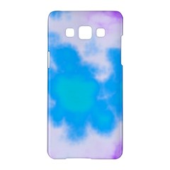 Blue And Purple Clouds Samsung Galaxy A5 Hardshell Case  by TRENDYcouture