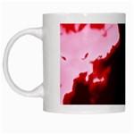 crimson sky White Mugs