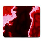 crimson sky Large Mousepads
