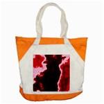 crimson sky Accent Tote Bag
