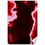 crimson sky Canvas 12  x 18