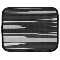 Gray Camouflage Netbook Case (xl)  by TRENDYcouture