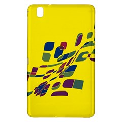 Yellow abstraction Samsung Galaxy Tab Pro 8.4 Hardshell Case