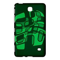 Green Abstraction Samsung Galaxy Tab 4 (8 ) Hardshell Case  by Valentinaart