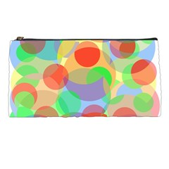 Colorful Circles Pencil Cases by Valentinaart