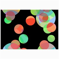 Colorful Circles Collage Prints by Valentinaart