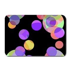Colorful Decorative Circles Plate Mats by Valentinaart