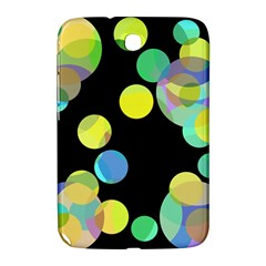 Yellow Circles Samsung Galaxy Note 8 0 N5100 Hardshell Case  by Valentinaart
