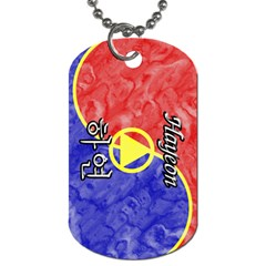 21-Hayeon Dog Tag (Two-sided)  by BankStreet