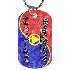02 Mastersilverman Dog Tag (two Sided)  by BankStreet