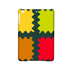 4 shapes                                                                                 			Apple iPad Mini 2 Hardshell Case by LalyLauraFLM
