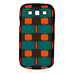 3 Colors Shapes Pattern                                                                                  samsung Galaxy S Iii Classic Hardshell Case (pc+silicone) by LalyLauraFLM