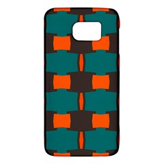 3 Colors Shapes Pattern                                                                                  samsung Galaxy S6 Hardshell Case by LalyLauraFLM