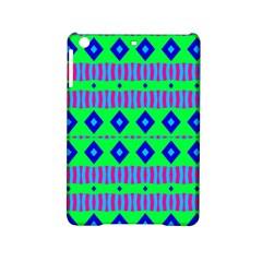 Rhombus And Stripes                                                                                   apple Ipad Mini 2 Hardshell Case by LalyLauraFLM