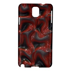 Red Grey 3d Design                                                                                    			samsung Galaxy Note 3 N9005 Hardshell Case by LalyLauraFLM