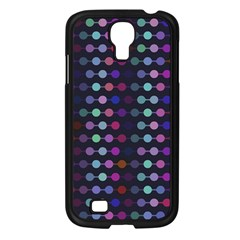 Connected Dots                                                                                     			samsung Galaxy S4 I9500/ I9505 Case (black) by LalyLauraFLM
