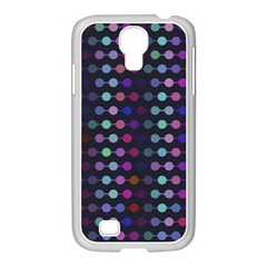 Connected Dots                                                                                     			samsung Galaxy S4 I9500/ I9505 Case (white) by LalyLauraFLM