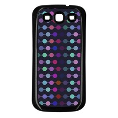 Connected Dots                                                                                     samsung Galaxy S3 Back Case (black) by LalyLauraFLM