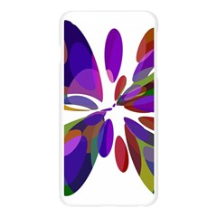 Colorful abstract flower Apple Seamless iPhone 6 Plus/6S Plus Case (Transparent) by Valentinaart