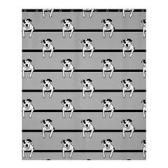 Pit Bull T Bone Shower Curtain 60  X 72  (medium)  by ButThePitBull