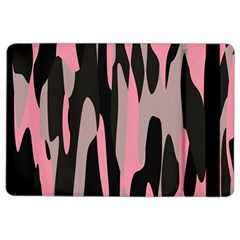 pink and black camouflage abstract iPad Air 2 Flip by TRENDYcouture