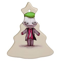 Suicide Clown Christmas Tree Ornament (2 Sides) by lvbart