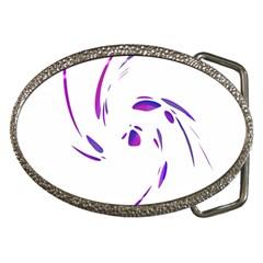 Purple twist Belt Buckles