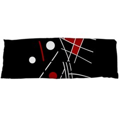 Artistic abstraction Body Pillow Case Dakimakura (Two Sides) by Valentinaart
