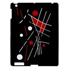 Artistic abstraction Apple iPad 3/4 Hardshell Case by Valentinaart