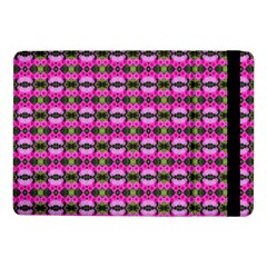 Pretty Pink Flower Pattern Samsung Galaxy Tab Pro 10 1  Flip Case by BrightVibesDesign