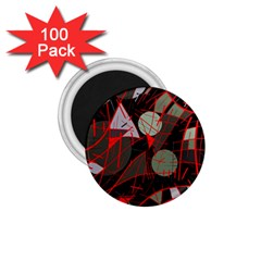 Artistic Abstraction 1 75  Magnets (100 Pack)  by Valentinaart