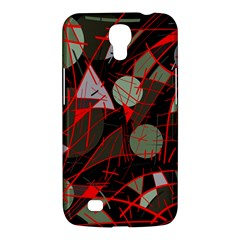 Artistic Abstraction Samsung Galaxy Mega 6 3  I9200 Hardshell Case by Valentinaart