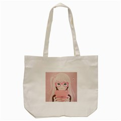 Gamegirl Girl Tote Bag (cream) by kaoruhasegawa