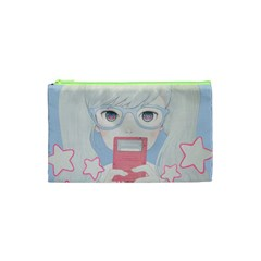 Gamegirl Girl Play With Star Cosmetic Bag (xs) by kaoruhasegawa