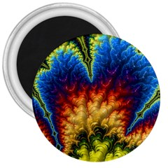 Amazing Special Fractal 25a 3  Magnets by Fractalworld