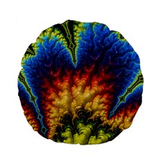 Amazing Special Fractal 25a Standard 15  Premium Flano Round Cushions by Fractalworld