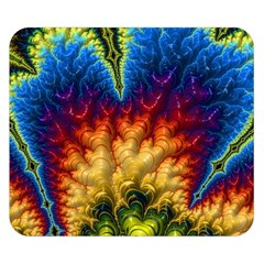 Amazing Special Fractal 25a Double Sided Flano Blanket (small)  by Fractalworld