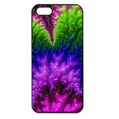 Amazing Special Fractal 25c Apple Iphone 5 Seamless Case (black) by Fractalworld