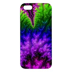 Amazing Special Fractal 25c Apple Iphone 5 Premium Hardshell Case by Fractalworld