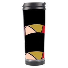 Abstract Waves Travel Tumbler by Valentinaart