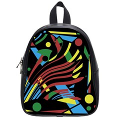 Optimistic Abstraction School Bags (small)  by Valentinaart