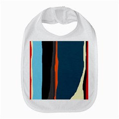 Colorful Lines  Bib by Valentinaart