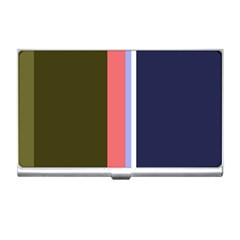 Decorative Lines Business Card Holders by Valentinaart