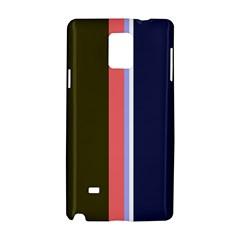 Decorative Lines Samsung Galaxy Note 4 Hardshell Case by Valentinaart
