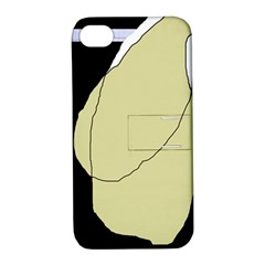 Elegant Design Apple Iphone 4/4s Hardshell Case With Stand by Valentinaart