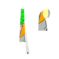 Crazy Abstraction Neckties (two Side)  by Valentinaart